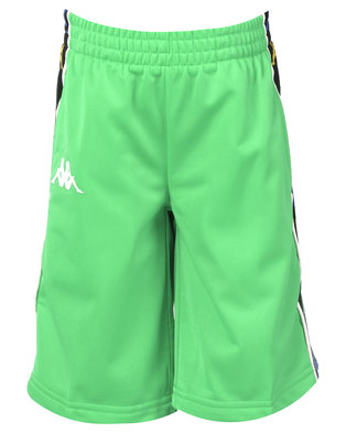 Kappa Banda Kidwell Shorts Green/White