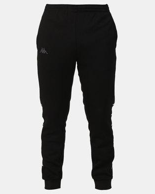 Kappa Unisex Brifes Sport Trousers Black 005