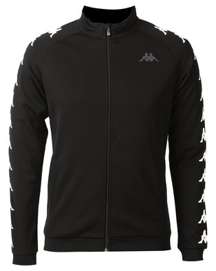 Kappa Unisex Bintal Fleece Jacket  Black