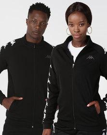 Kappa Unisex Bintal Fleece Jacket  Black