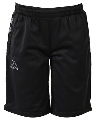 Kappa 222 Band Treadwell Shorts Black/Grey
