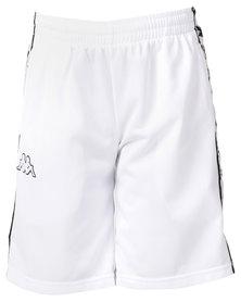 Kappa 222 Banda Treadwell Shorts White/Black