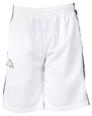Kappa 222 Banda Treadwell Shorts White/Black
