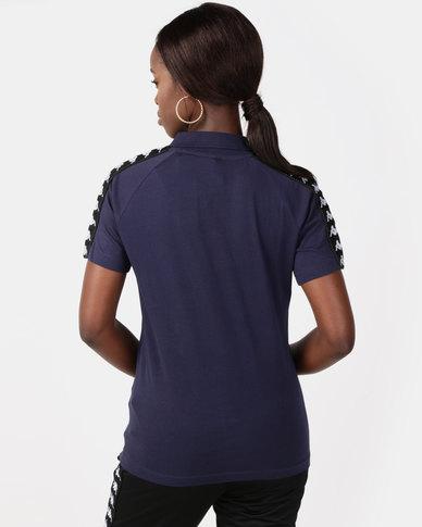 Kappa Unisex Banda Estrel Polo Blue/Black