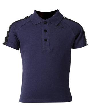 Kappa Banda Estrel Polo Blue Marine/Black