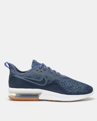 new styles 27156 2fb0d Nike Performance Nike Air Max Sequent 4 Running Shoes Blue