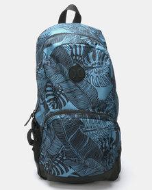 Hurley Siege Print Backpack Blue