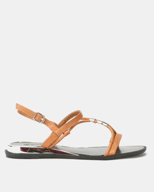 f2e607534ab Queenspark Toggle Strippy Upper On Wedges Camel