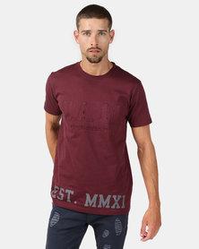 Urbanart Magnum T-Shirt Burgundy