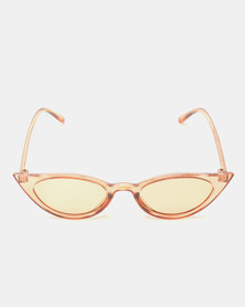 Utopia Cat Eye Sunglasses Neutrals