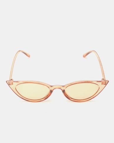 Utopia Cat Eye Sunglasses Neutrals