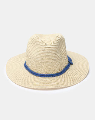 Utopia Knotted Straw Hat Natural 0eb5cd4ddfb