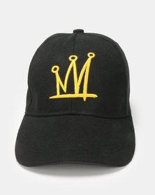 Utopia Crown Cap Black