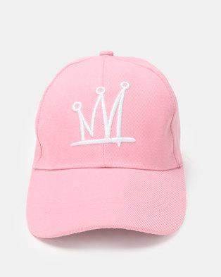 Utopia Crown Cap Pink