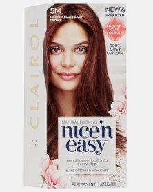 Clairol Nice 'N Easy Natural Medium Mahogany Brown 5M