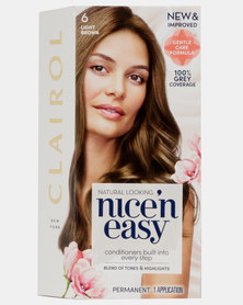 Clairol Nice 'N Easy Natural Root Touch Up Light Brown 6
