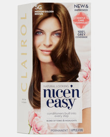 Clairol Nice 'N Easy Natural Root Touch Up Medium Golden Brown 5G
