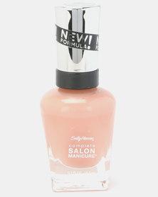 Sally Hansen Salon Manicure Nail Polish 230 Nude Now Nude