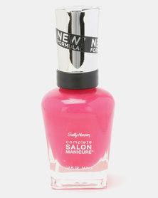 Sally Hansen Salon Manicure Nail Polish 542 Cherry Up Pink