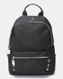 Utopia Triple Stud Backpack Black
