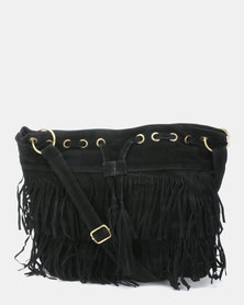 Utopia Tassel Bag Black