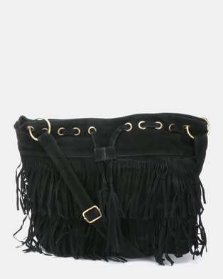 e824e1c38d Utopia Tassel Bag Black