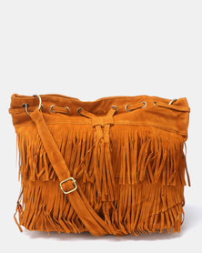 Utopia Tassel Bag Tan