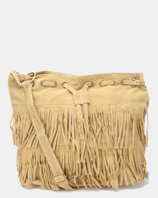 Utopia Tassel Bag Taupe