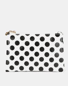 Utopia Polka Double Zip Cosmetic Bag Multi