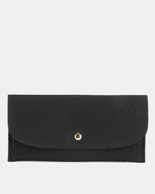 Utopia Foldover Purse Black