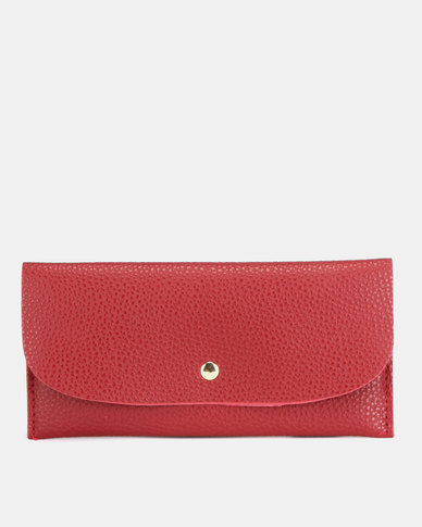 Utopia Foldover Purse Red
