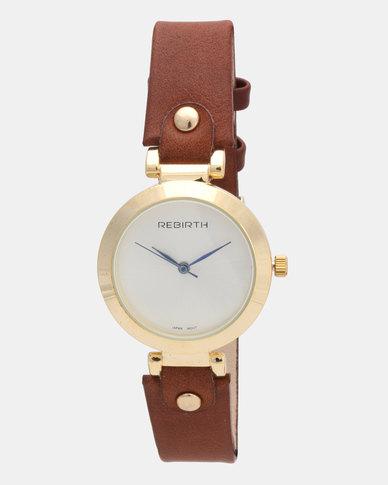 Utopia Stud Watch Tan
