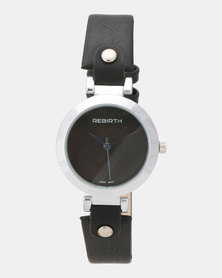Utopia Stud Watch Black