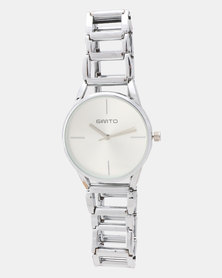 Utopia Link Watch Silver-tone