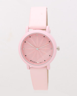 Utopia Flower Watch Pink