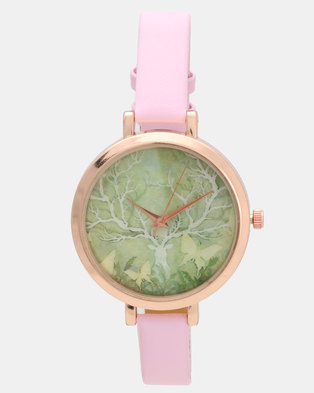 Utopia Deer Watch Pink