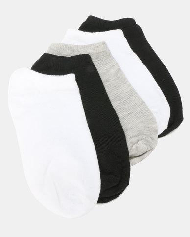 Utopia Basic 5 Pack Anklets Multi
