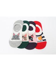 Utopia 4 Pack Secret Socks Multi