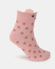 Utopia Piggie Socks Pink