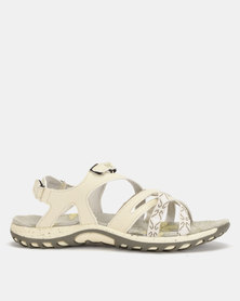 Hi-Tec Ansellia Adventure Sandals Silver