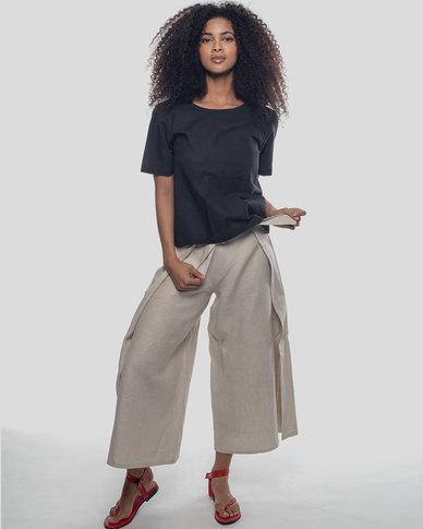 Basic Journey Swagger Pants Oatmeal