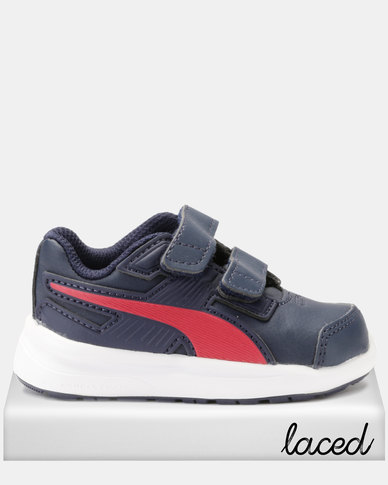 cost charm factory outlets differently Puma Boys Escaper SL V I Sneakers Navy