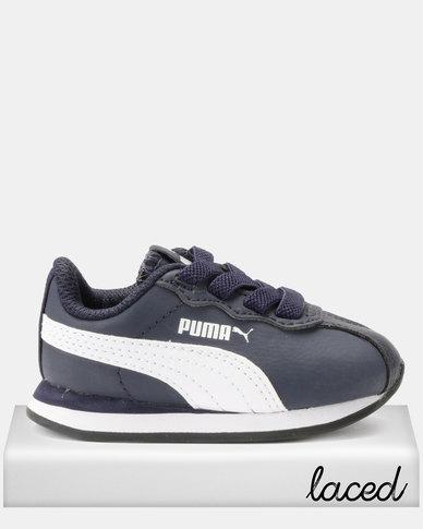 Puma Sportstyle Core Boys Turin 11 AC I Sneakers Navy