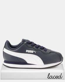 Puma Sportstyle Core Boys Turin 11 AC PS Sneakers Navy