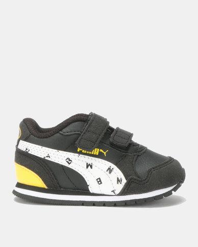 Puma Sportstyle Core Puma Boys JL ST I Runner Batman Sneaker Black