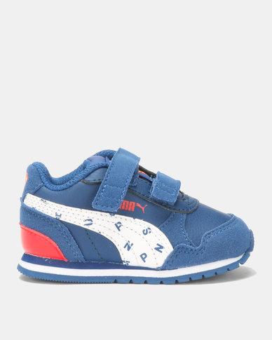 Puma Sportstyle Core Boys JL ST I Runner Superman Sneaker Blue