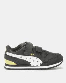 Puma Sportstyle Core Boys JL ST PS Runner Batman Sneakers Black