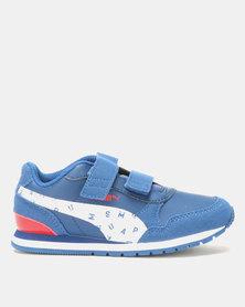 Puma Sportstyle Core Boys JL ST PS Runner Superman Sneaker Blue
