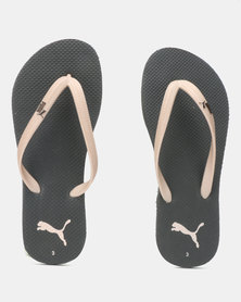 Puma Sportstyle Core First Flip Wn s ZADP Flip Flops Black/Rose Gold