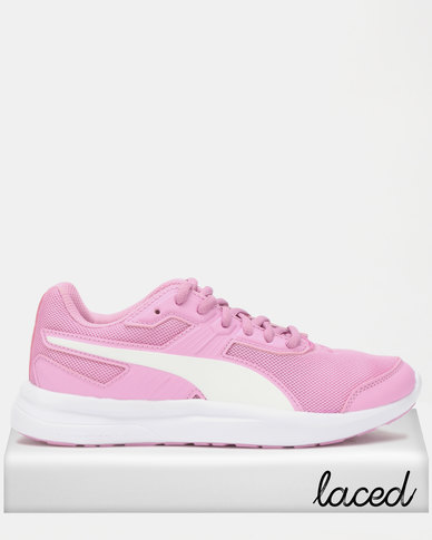3766cad1859f Puma Girls Escaper Mesh JR Sneakers Pink
